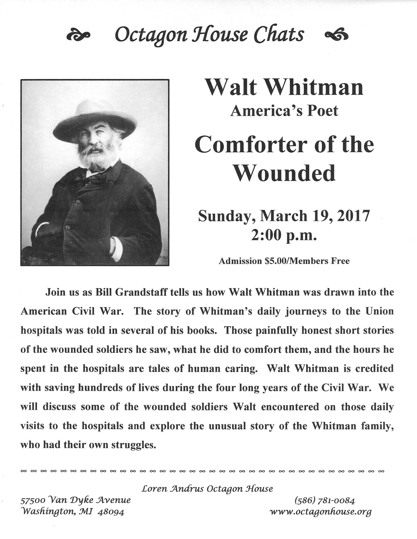 a biography and life work of walt whitman an american poet