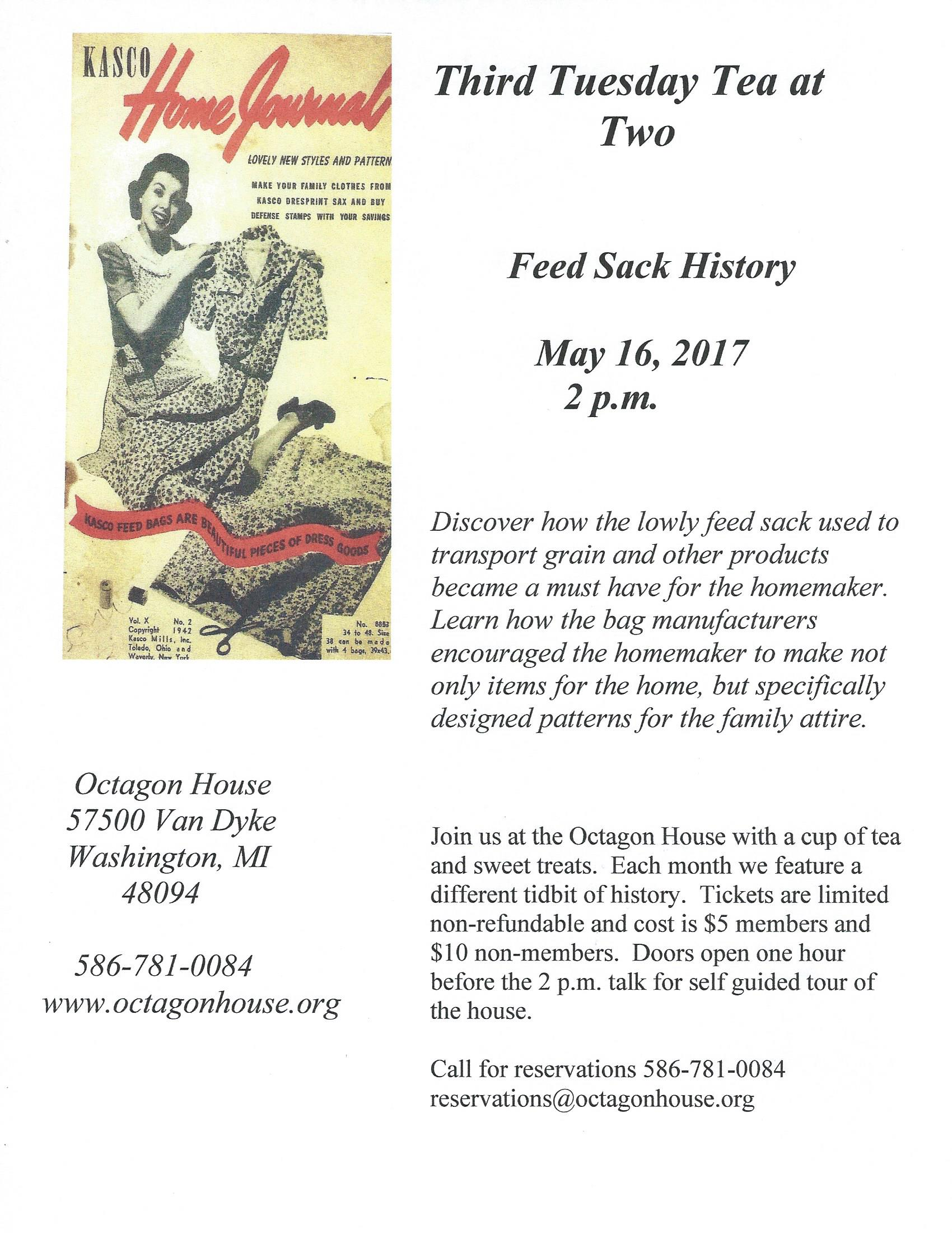 Feed Sack web flyer